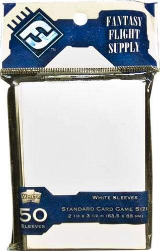 Image Standard Card Sleeves White