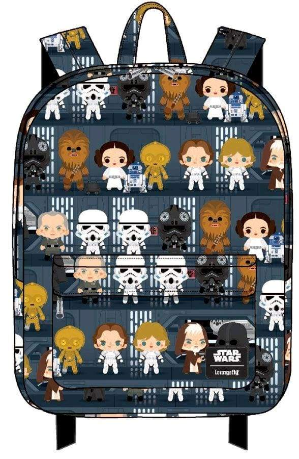 Image Star Wars - Death Star Chibi Print Backpack