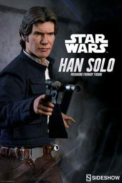 Image Star Wars - Han Solo Premium Format 1:4 Scale Statue