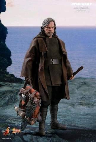"""Image Star Wars - Luke Skywalker Deluxe Episode VIII The Last Jedi 12"""" 1:6 Scale Action Figure"""