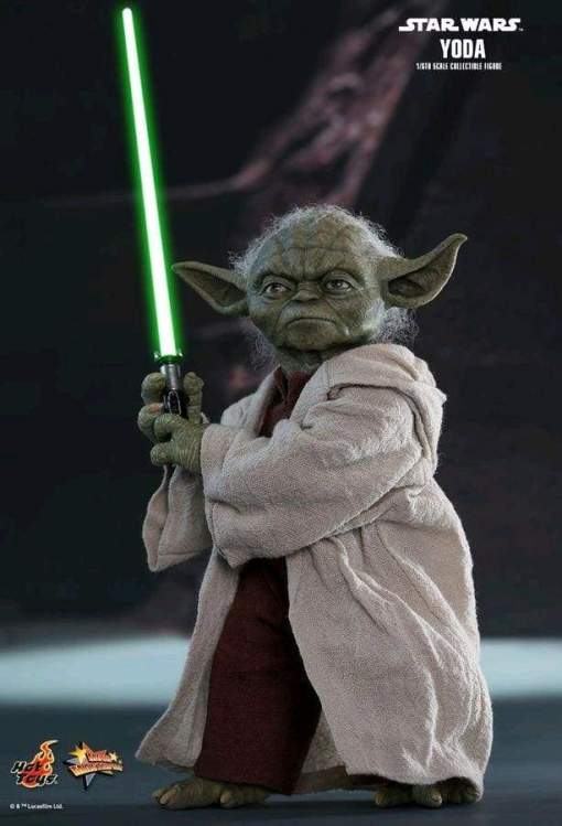 Image Star Wars - Yoda Episode II Attack of the Clones 1:6 Scale Action Figure