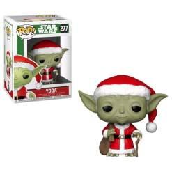 Image Star Wars - Yoda Santa Pop! Vinyl
