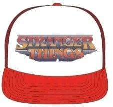 Image Stranger Things - Logo Red & White Trucker Cap