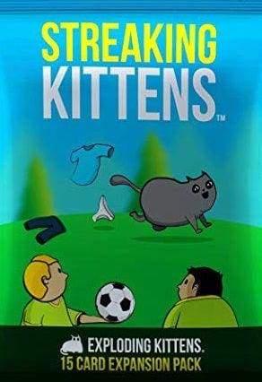 Image Streaking Kittens (Exploding Kittens Expansion)