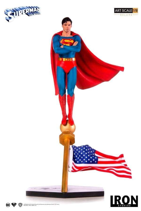 Image Superman - Superman 1978 Movie 1:10 Scale Statue