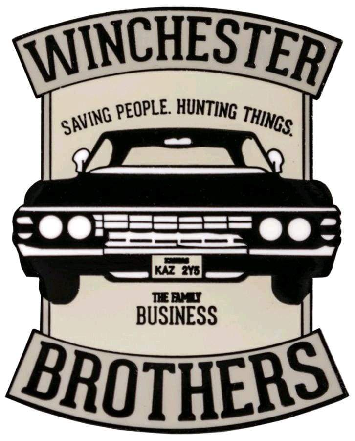 Supernatural – Winchester Brothers Enamel Pin