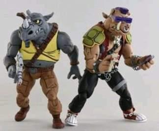 Image Teenage Mutant Ninja Turtles - Rocksteady & Bebop Action Figure 2-pack