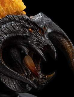 Image The Lord Of The Rings - The Balrog (Flame Of Udun) Creature Bust