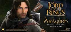 "Image The Lord of the Rings - Aragorn Deluxe 12"" Action Figure"