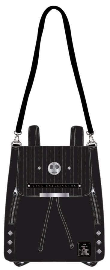 Image The Nightmare Before Christmas - Black Jack Convertible Mini Backpack