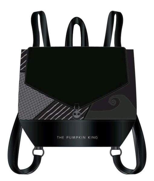 Image The Nightmare Before Christmas - Black Pumpkin King Mini Backpack