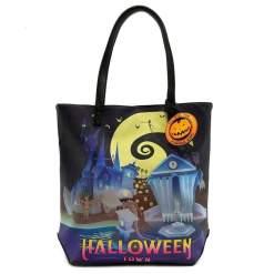 Image The Nightmare Before Christmas - Halloween Town / Christmas Town Tote Bag