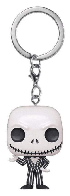 Image The Nightmare Before Christmas - Jack Skellington Metallic Pocket Pop! Keychain [RS]