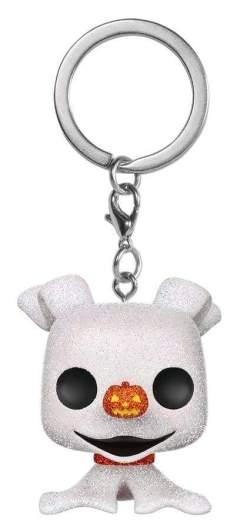 Image The Nightmare Before Christmas - Zero Diamond Glitter Pocket Pop! Keychain [RS]
