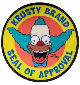 Image The Simpsons - Krusty Brand Seal of Approval Patch