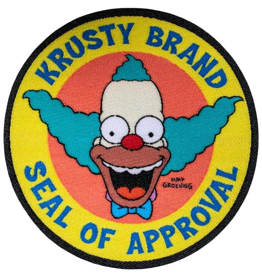 The Simpsons – Krusty Brand Seal of Approval Patch