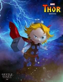 Image Thor - Thor Animated Statue