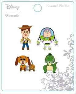 Image Toy Story - Enamel Pin 4-pack