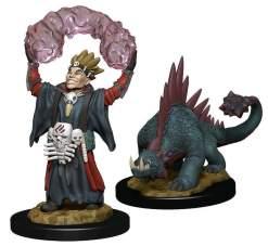 Image Wardlings - Boy Warlock & Lizard Pre-Painted
