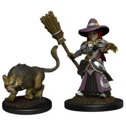 Image Wardlings - Girl Witch & Witch's Cat Pre-Painted
