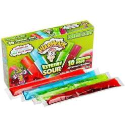 Image Warhead Freezer Pops - Xtreme Sour (Pack of 10)