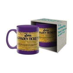 Image Willy Wonka - Golden Ticket Coffee Mug