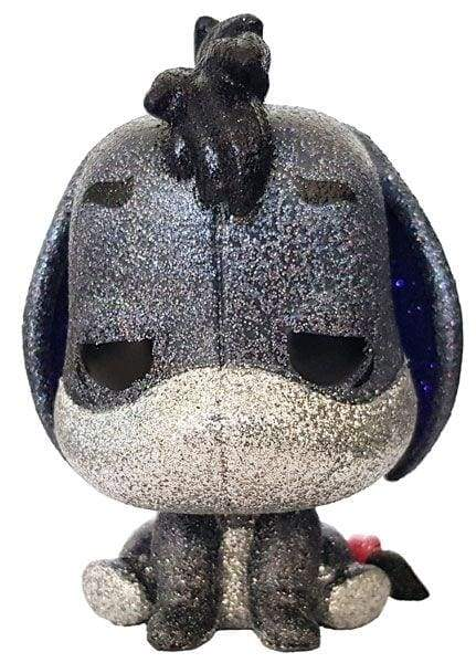 Image Winnie the Pooh - Eeyore (with chance of chase) Diamond Glitter US Exclusive Pop! Vinyl
