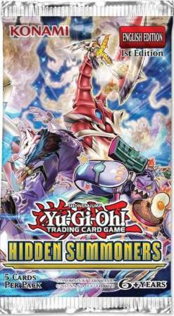 Image Yu-Gi-Oh! Hidden Summoners Booster