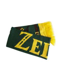 Image Zelda - Link's Knitted Scarf with Printed Straps