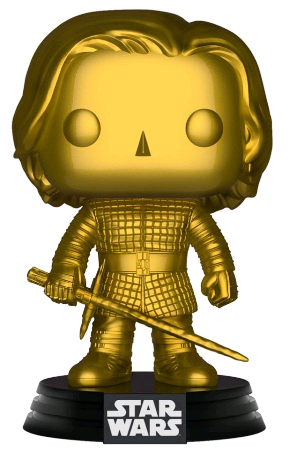 Star Wars – Kylo Ren Gold Metallic (US Exclusive) Pop! Vinyl Figure