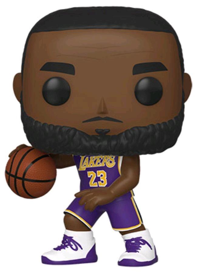 NBA: Lakers – Lebron James Pop! Vinyl Figure