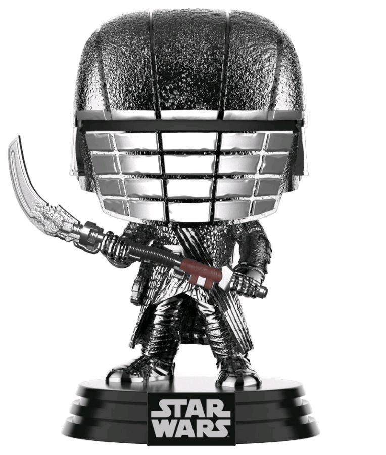 Star Wars: Rise of Skywalker – Knight of Ren Scythe Hematite Chrome Pop! Vinyl Figure
